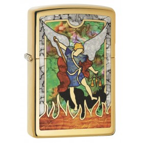 6199dda86848 Zippo Lighter  Saint Michael the Archangel