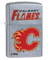 Zippo Lighter: NHL Hockey, Calgary Flames - Street Chrome 49363
